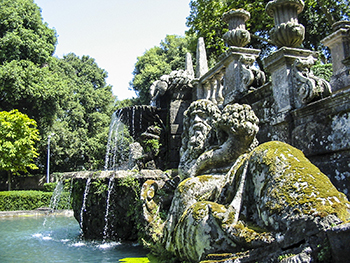 Fountain of the River Gods, Villa Lante